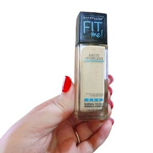 Maybelline Fit Me Foundation Matte Poreless Ivory